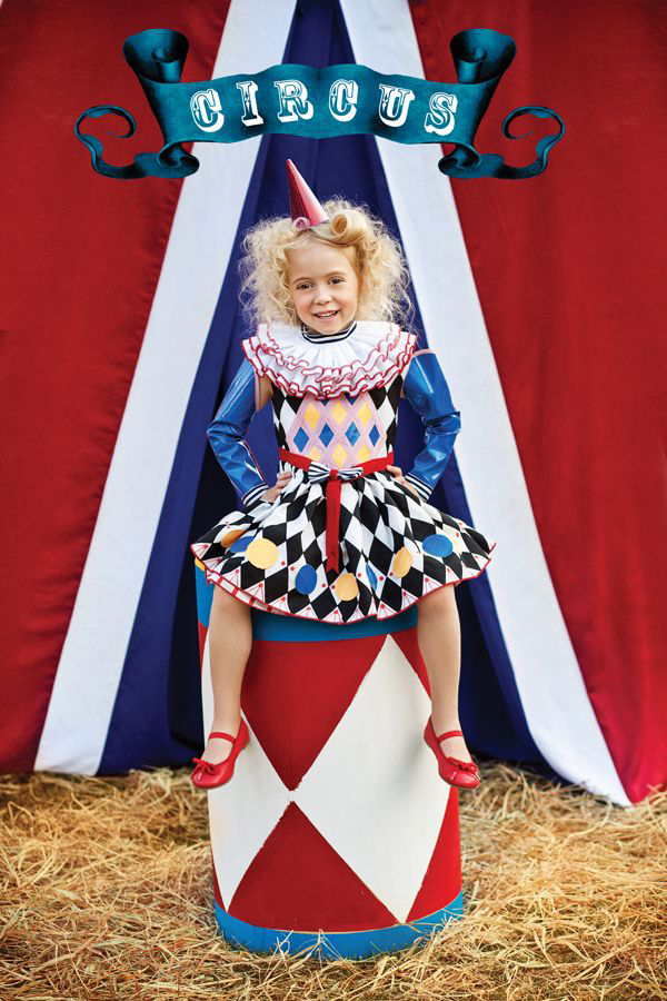 halloween circus photo copy