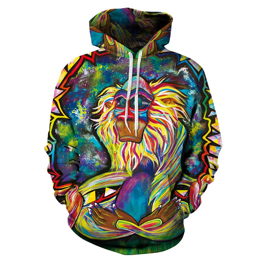 grafitti hoodie