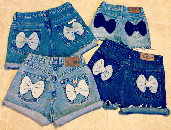 Project Fashion shorts with bows
