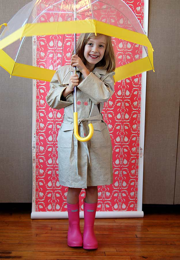 Project fashion child trench coat 2