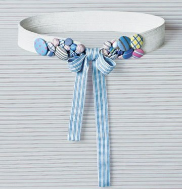 example fabric belt