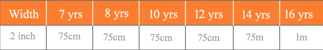 Circle skirt Elastic sizes 7-16