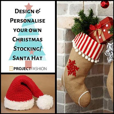 Chrismtas Stocking & Santa Hats copy